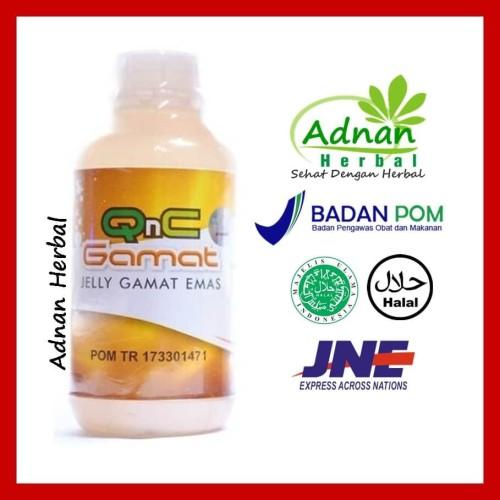 Foto Produk Obat Herbal Lidah Bengkak / Glossitis - 100% Alami & Ampuh | QnC Gamat dari Adnan Herbal