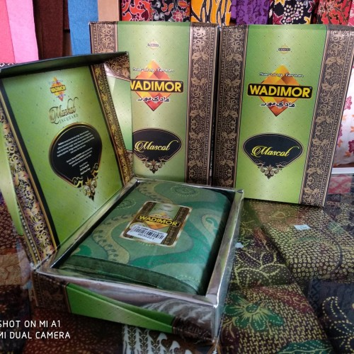 Foto Produk Sarung Wadimor Jacquard Mascot ( Ecer ) dari Toko Ibu Brebes