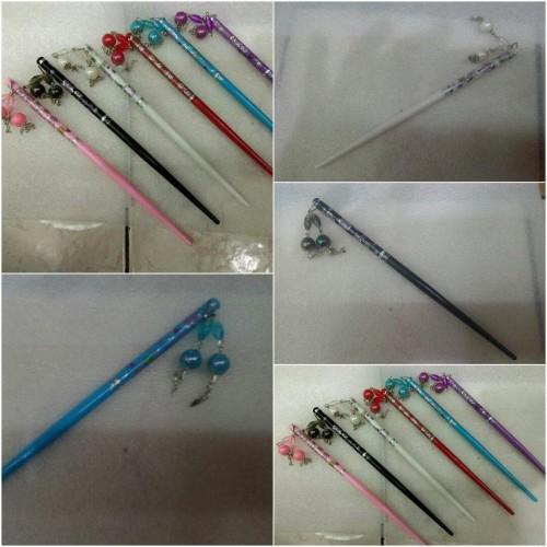 Foto Produk Tusuk Konde Import Jepang Style Hair Sticks - Biru dari Toserba online 99