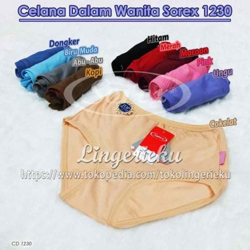 Foto Produk Celana Dalam Wanita Sorex 1230 Ukuran QL atau XXL Best Seller Termurah dari Lingerieku