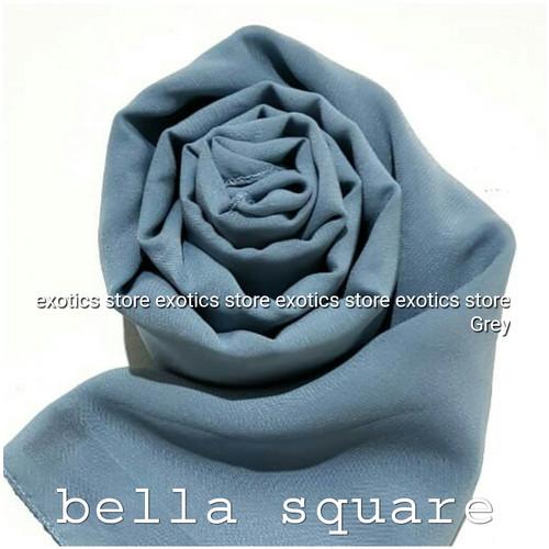 Foto Produk Jilbab Segiempat Bella Square Daily Hijab Hycon Poly Cotton dari exotics-store