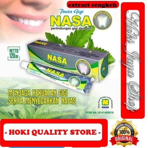 Foto Produk Pasta Gigi Nasa - Odol Nasa - Pemutih Gigi Extra Cengkeh dari HOKI QUALITY STORE