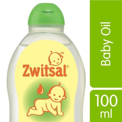 Foto Produk Zwitsal Baby Oil Natural 100Ml dari Unilever Official Store