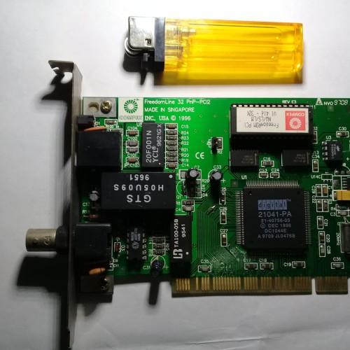 Foto Produk LAN CARD NIC PCI WITH BOOTROOM MERK COMPACT dari kutauyangkumau