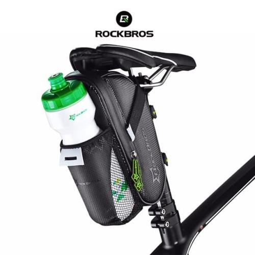 Foto Produk ROCKBROS C7-1 Saddle Bag With Bottle Pocket - Tas Sadel Sepeda dari Rockbros Indonesia