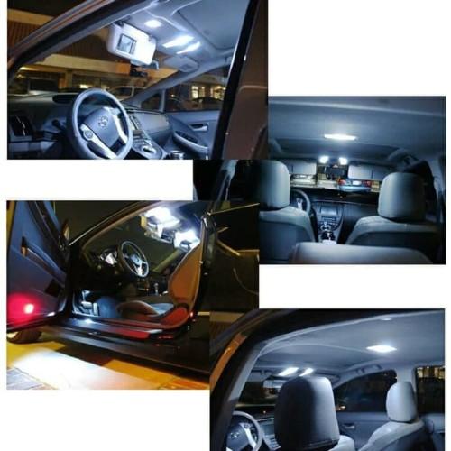 Foto Produk Lampu LED PLAFON Kabin Mobil Interior 31mm Plasma COB Super Terang dari Price Priority