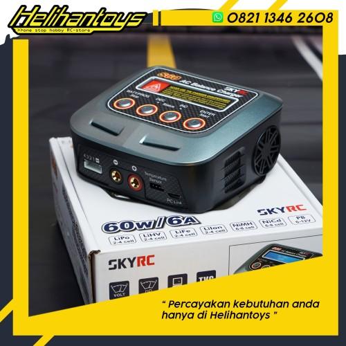 Foto Produk SkyRC S60 AC Balance Charger / Discharger SK-100106-03 dari Helihantoys
