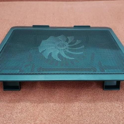 "Foto Produk Cooling Pad Cooler Fan Kipas Pendingin Laptop Tatakan Max layar 15"" dari jsnshop"