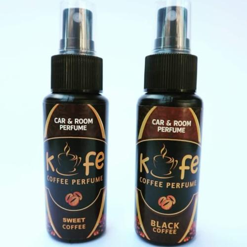 Foto Produk Beli 2 Diskon 10% Kofe Parfum Pengharum Mobil dan Ruangan Aroma Kopi - Spray dari Bidadari Shop