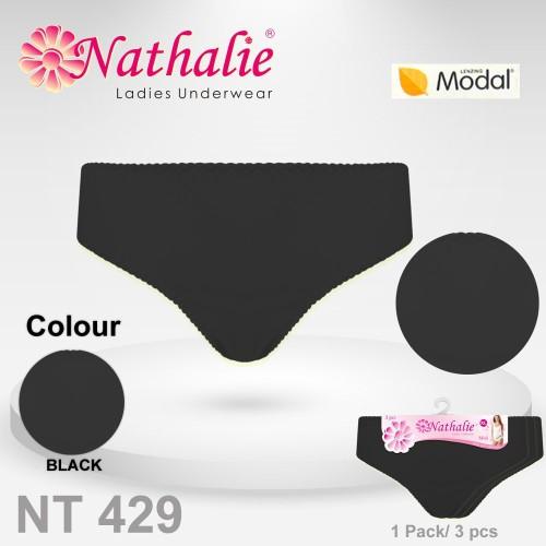 Foto Produk Nathalie Celana Dalam Midi Wanita Dewasa 1 Pack 3 Pcs NTC 429 dari Peromoners