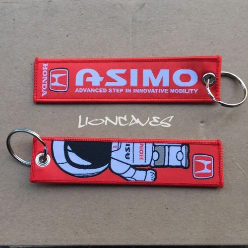 Foto Produk Honda Asimo Racing Key Ring / Key Chain / Luggage Tag/ Gantungan Kunci dari lioncaves
