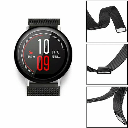 Foto Produk 4Connect 22 mm Magnetic Strap For TicwatchPro n Amazfit Pace dari PIK88Elektronik