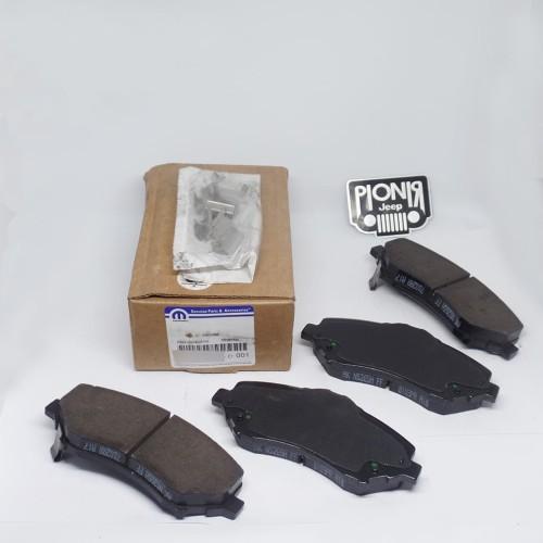 Foto Produk Kampas Rem Depan JK / Brake Pad Front Ori Mopar For Jeep JK Wrangler dari PIONIR JEEP