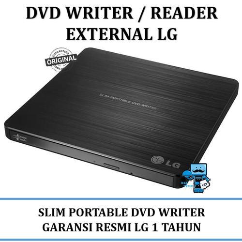 Foto Produk DVD/CD Writer External LG Ultra Slim External DVD Reader / Writer dari das technology