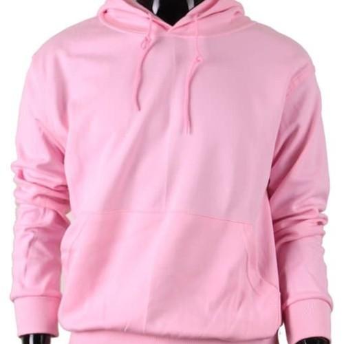 Foto Produk Sweater Hoodie Jumper Pink Baby - Merah Muda, L dari Hoodie Center