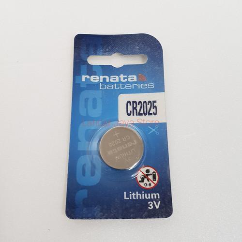 Foto Produk BATERY / BATTERIES RENATA CR2025 (Asli) dari Lancar Jaya Store