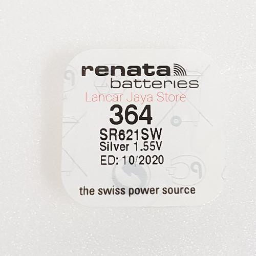 Foto Produk BATERY / BATTERIES Renata 364 SR621SW (Asli) dari Lancar Jaya Store