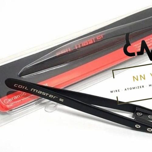 Foto Produk Ceramic Tweezer Pinset By Coil Master Authentic - Black dari NNVape