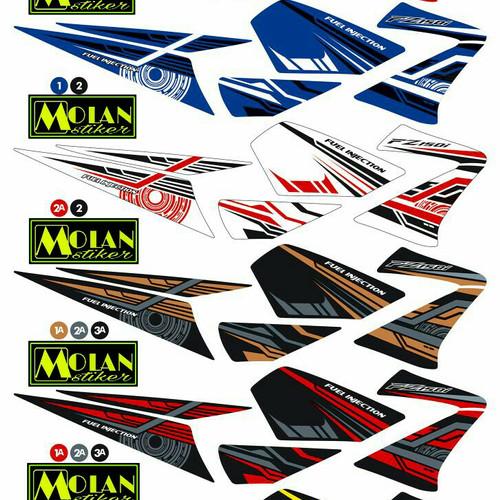 Foto Produk Sticker Striping Variasi Thailand Thailook Vixion Old/Lama (FZ150i) dari MOLAN Stiker