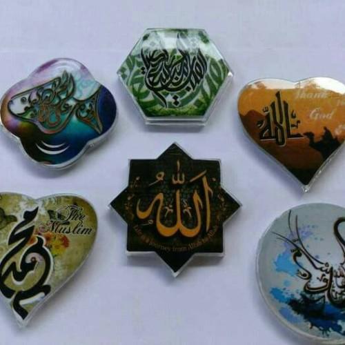 Foto Produk souvenir pernikahan tempelan kulkas kaligrafi dari reyhan souvenir
