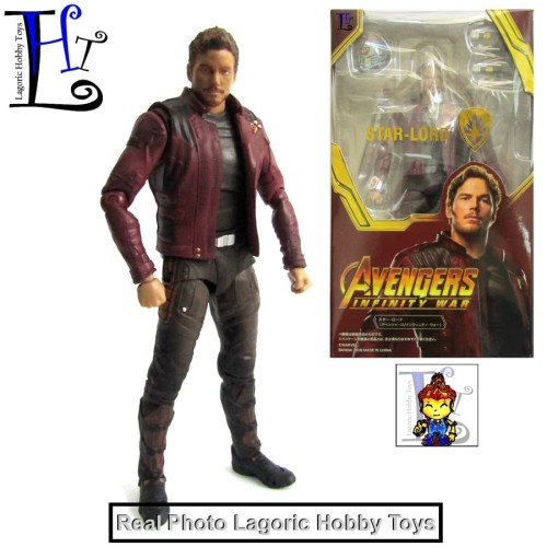 Foto Produk SHF Star Lord (Guardians of the Galaxy)[Avengers Infinity War]Crack dari Lagoric Hobby Toys