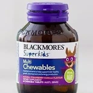 Foto Produk Blackmores Superkids Multi Chewables Superkid Multi Chewable 60 tab dari Apanaja