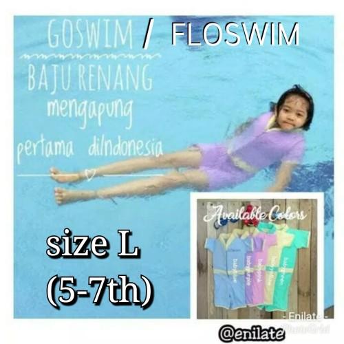 Foto Produk Cuddle Me GoSwim L (5-7th) Baju Renang Anak Bisa Mengapung - Biru dari Enilate