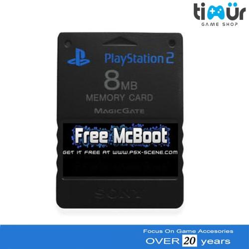 Foto Produk Memory Card PS2 Free MCboot Multi dari Timur Game Shop