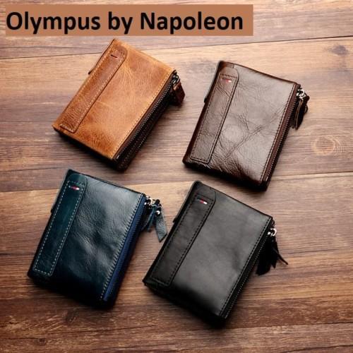 Foto Produk Dompet kulit sapi asli pria - RFID PROTECTED (OLYMPUS) - coffee dari Leather Concept