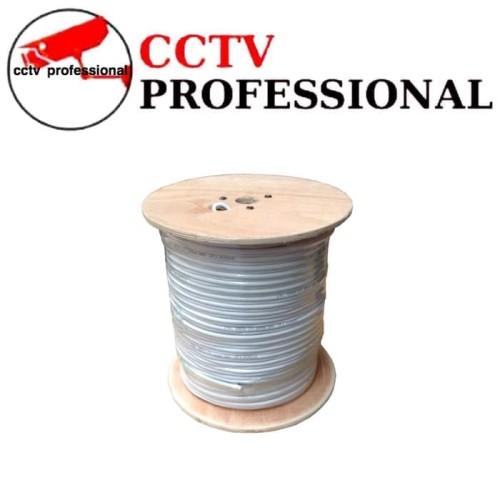 Foto Produk Kabel cctv RG59 plus power permeter ekonomis dari cctv professional