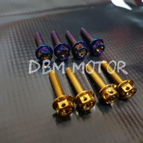 Foto Produk Baut Windshield Probolt Xmax- Nmax - Aerox 155 dari DBM motorsport