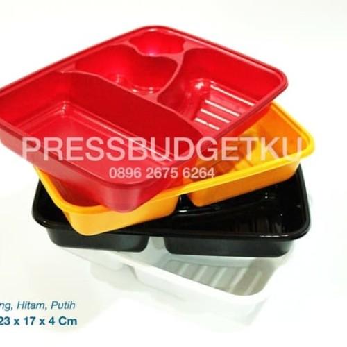 Foto Produk Mika Bento/Box Bento/Mika Lunch/Tray Bento dari press budgetku