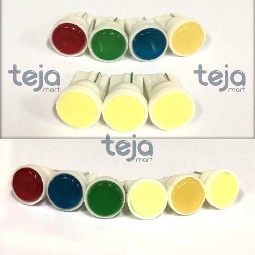 Foto Produk Lampu LED T10 Jagung Sein Senja Plat Belakang Ceramic W5W Motor Mobil dari TejaMart