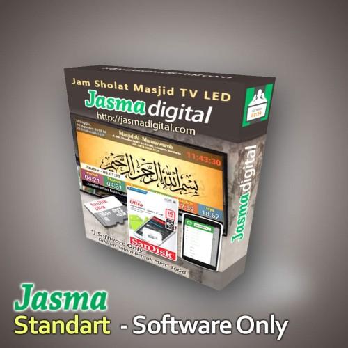 Foto Produk Software jam sholat masjid digital menggunakan TV LED Versi Standart dari Jasma Digital
