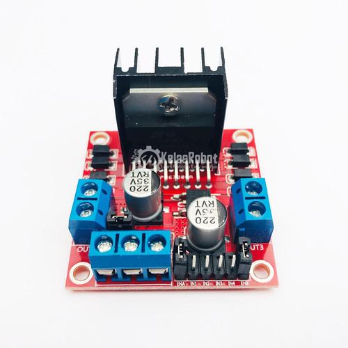Foto Produk L298N Motor Driver Controller Board Module for Arduino dari Kelas Robot