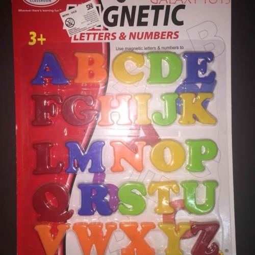 Foto Produk abjad huruf besar magnetic dari MAG TOYS
