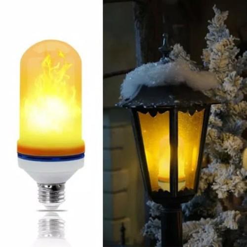 Foto Produk Lampu Api LED E27 - 9watt Flame Effect 3in1 dari kurnia jaya gm
