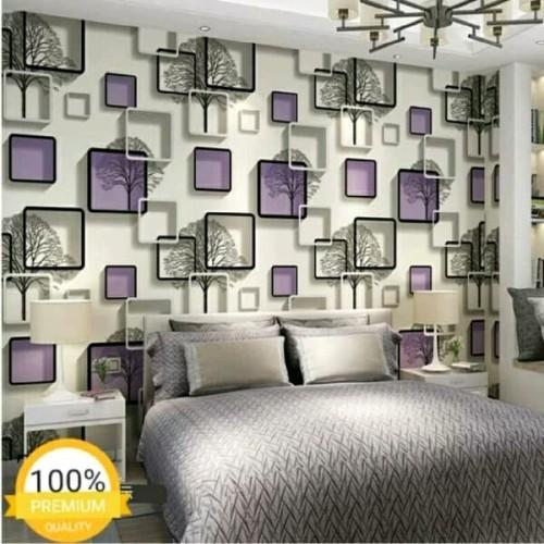 Foto Produk Walpaper dinding ungu 3D dari toko asmad