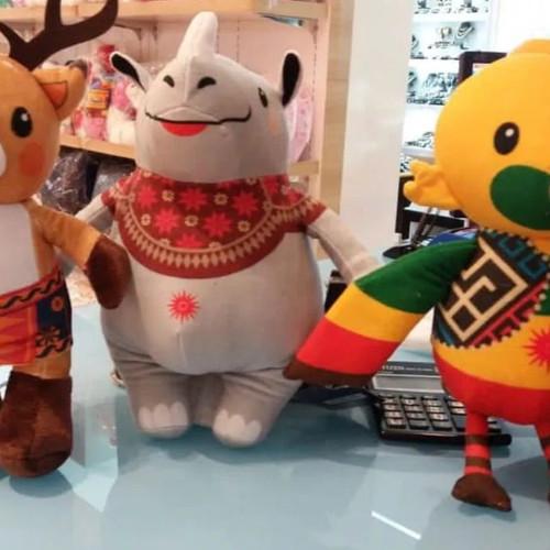 Foto Produk Set Komplit Big Size 10 inch 3in1 Asian Games kaka atung bhin dari Snackers Co
