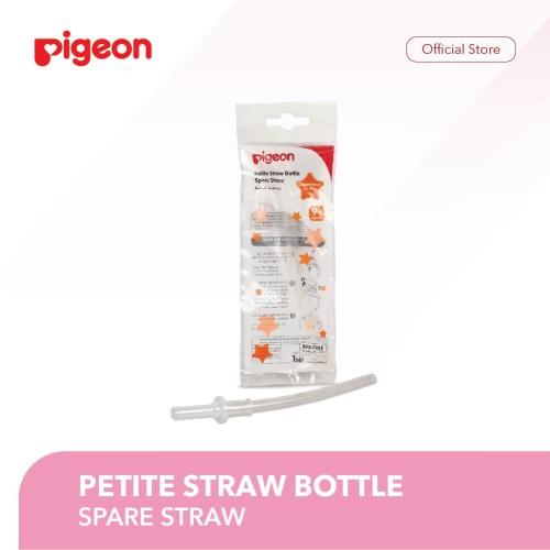 Foto Produk Pigeon Petite Straw Bottle Spare Straw - PR050931 dari Pigeon Indonesia