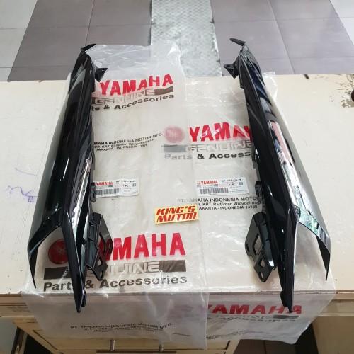 Foto Produk COVER, SAMBUNGAN BODY SOUL GT 115 (1KP) HITAM ASLI YAMAHA dari King'S Motor