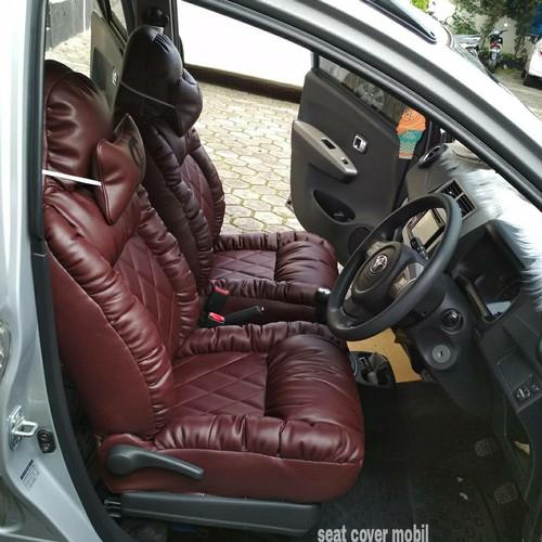 Foto Produk sarung jok mobil sofa .avanza,xenia,agya,datsun,mobilio,expander,rush dari SEAT COVER MOBIL