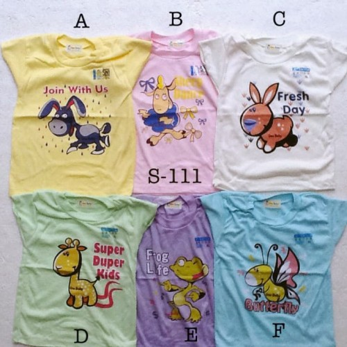Foto Produk baju harian atasan kaos santai murah size XL anak bayi unisex dari The Fairy Babyshop