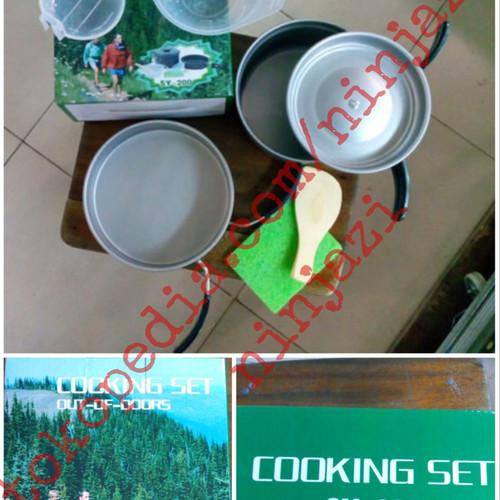 Foto Produk DS 200 - Alat masak camping - cooking set dari Ninjazi
