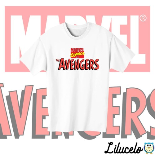 Foto Produk Kaos Anak Lucu (Kids T-Shirt) Avengers Classic dari lilucelo
