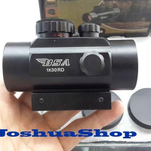Foto Produk Scope Senapan Red Dot BSA 1x30 RD dari JoshuaShop