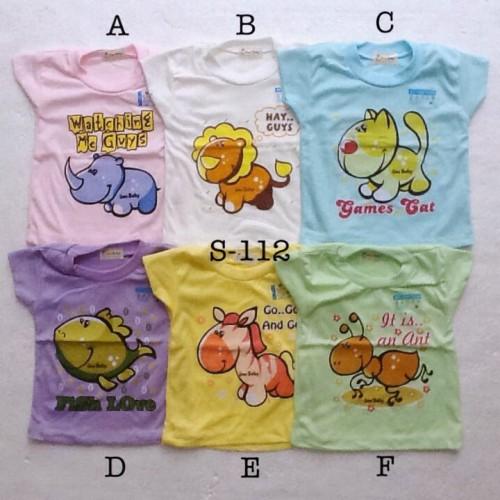 Foto Produk baju harian atasan kaos santai murah size L anak bayi unisex dari The Fairy Babyshop