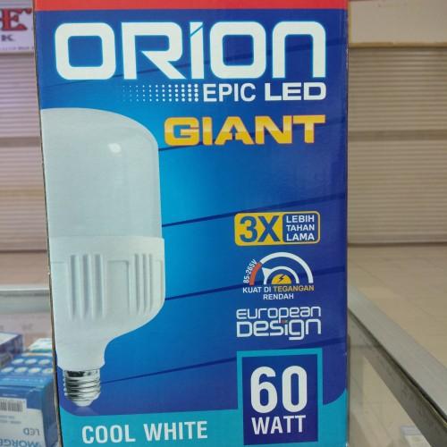 Foto Produk Lampu Led jumbo 60 orion watt bergaransi murah dari Maju Jaya listrik