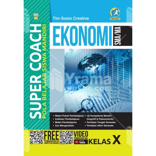 Foto Produk BUKU SUPER COACH EKONOMI SMA/MA KELAS X KURIKULUM 2013 REVISI dari Yrama Widya Online