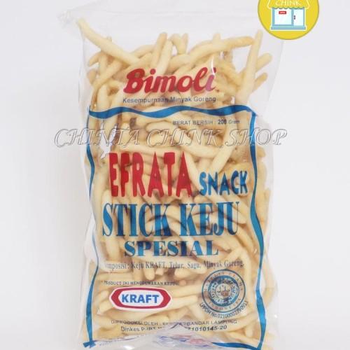 Foto Produk Stik Keju Kraft Efrata Spesial Kemasan 200g dari chintachink